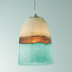 Strata Art Glass Pendant Light -