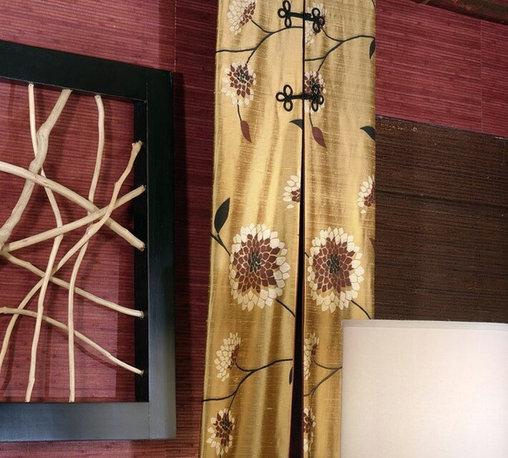 Fun with Fabric for Windows and Bedding - Deziner Tonie, Decorating Den Interiors