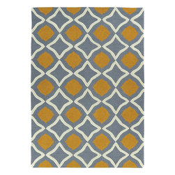 Kaleen - Kaleen Trends TRN04 (Grey) 8' x 10' Rug - This Hand Tufted rug would make a great addition to any room in the house. The plush feel and durability of this rug will make it a must for your home. Free Shipping - Quick Delivery - Satisfaction Guaranteed