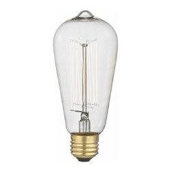 Victorian Nostalgic Squirrel Cage Vintage Edison Light Bulb - 40-Watts -