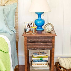 Trimmed-Out Bedside Table | 27 Ways to Build Your Own Bedroom Furniture | Photos