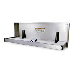 Brocar - Brocar Horizontal Stainless Steel Special Needs Wall Mount Changing Station Mult - Shop for Changing Tables from Hayneedle.com! The Foundations Patented Special Needs Extended Length Recessed Mounted Changer was designed exclusively to meet the needs of physically challenged adults. This patented design provides an extended bed for safety and ease of use and is ideal for hospitals schools and nursing homes. Constructed of heavy-duty type 304 brushed stainless steel the unit is rated to support a static load of 400 lbs. Pneumatic gas springs gently engage to provide a safe and easy open and close. The interior changing bed features a high gloss bacterial resistant ABS tray and a one-hand operation safety strap. Unit is recess mounted for minimal wall disturbance. Cushioned safety corners prevent knocks and bumps when open. This patented changing station is ADA and ANSI compliant when properly installed. All necessary mounting hardware is included. Dimensions 64.75L x 23.5W x 4H inches.About FoundationsFoundations focuses their product development on high use commercial environments where safety ease of use durability and comfort are paramount. Their products are designed and engineered from the ground up with these applications in mind. They are not simply a consumer grade product that happens to be sold to commercial users. All Foundations products meet mandatory safety standards published by the Consumer Products Safety Commission as well as all voluntary standards published by ASTM. Additionally Foundations ensures that all their products meet the CPSC CFR 1633 Fire Standard. You can rest assured when you choose a Foundations product that it meets the highest expectations.The people at Foundations believeChildren are our most valuable citizens and therefore must be cherished.The proper development of our children is the solution to society's challenges.It is everyone's responsibility to contribute to the well-being and development of our children.Children