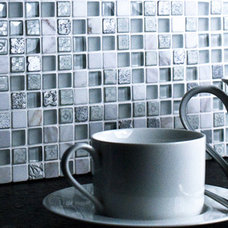 Contemporary Tile by Mosaic Village