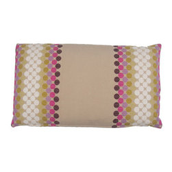 Designer Fluff - MOMA Pillow, 15x25 - Infuse global style into your home with this throw pillow. Made from imported Moroccan fabric, woven with hues of eggplant, magenta, lavender, olive green and bone with khaki, to create a unique landscape. Showcase your style and substance with this accent piece.