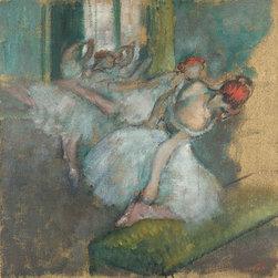 Ballet Dancers, c.1890/00   Degas   Canvas Print - Condition: Unframed Canvas Print
