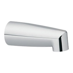 "Moen - Moen 3829 Non-Diverter Tub Spout in Chrome, Slip Fit - Moen 3829 Non-Diverter Tub Spout in Chrome, Slip FitMoen is dedicated to designing and delivering beautiful products that last a lifetime. Moen offers a diverse selection of kitchen faucets, kitchen sinks, bathroom faucets and accessories, and showering products. Moen products combine style and functionality with durability for a lifetime of customer satisfaction.Moen 3829 Non-Diverter Tub Spout in Chrome, Slip Fit, Features:• Spout Length: 7""• Non-Diverter• Slip Fit Design- 1/2"" CC ConnectionsRecommended: Moen-98576 Moen 98576 Monticello Decorative Spout Escutcheon, 3800 series spouts in Chrome Moen Limited Lifetime WarrantyManufacturer: MoenModel Number: Moen 3829Manufacturer Part Number: 3829Collection: Finish Code: Finish: ChromeUPC: 026508133743This product is also listed under the following Manufacturer Numbers and Finish Codes:Moen-3829        3829        Moen 3829        MO3829Product Category: Tub & Shower FaucetsProduct Type: Bathtub Spout"