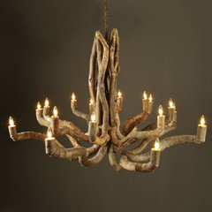 eclectic chandeliers by brugeshome.com