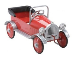 Airflow Collectibles - Hot Rodder Pedal Car Ride-On Toy AF101 - Hot Rodder Pedal Car
