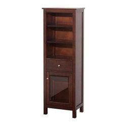 Shop Avanity Linen Tower Cabinet Bathroom Vanities on Houzz