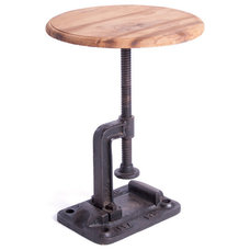Industrial Side Tables And Accent Tables by Indeed Decor