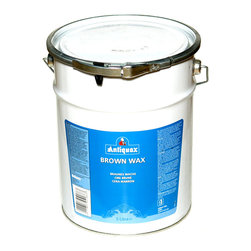 Antiquax - Antiquax Brown Wax Polish 5 Liter - A stain within the wax enables you to colour and polish your furniture