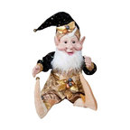 Winward Designs - Traditional Dwarf Elf - Adorable dwarf elf figurine that is needed to complete your holiday decorations this year! Made of resin (head & hands) and premium fabrics.