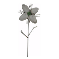 Forked Up Art - Portia - Flower - A great display for the garden!