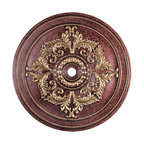 Livex Lighting - 60 Inch Ceiling Medallion - The 60 Inch Ceiling Medallion is available with a Palatial Bronze or Verona Bronze finish. 60.5 inch width x 5.75 inch height.