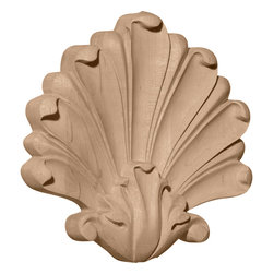 """Ekena Millwork - 7""""W x 7""""H x 1 3/8""""D Large Foster Center, Cherry - 7""""W x 7""""H x 1 3/8""""D Large Foster Center, Cherry. Our appliques and onlays are the perfect accent pieces to cabinetry, furniture, fireplace mantels, ceilings, and more. Each pattern is carefully crafted after traditional and historical designs. Each polyurethane piece is easily installed, just like wood pieces, with simple glues and finish nails. Another benefit of polyurethane is it will not rot or crack, and is impervious to insect manifestations. It comes to you factory primed and ready for your paint, faux finish, gel stain, marbleizing and more."""