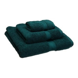 Luxurious Egyptian Cotton 900 Gram 3-Piece Teal Towel Set - Luxurious 900GSM 3-Piece Teal Towel Set