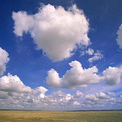 Magic Murals - Canada's Clouds over Prairie Wallpaper Wall Mural - Self-Adhesive - Multiple Siz - Canada's Clouds over Prairie Wall Mural