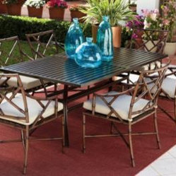 Caicos Seven-Piece Dining Set by Home Decorators Collection