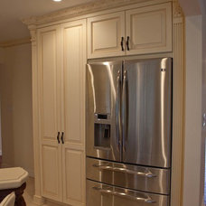 Contemporary Refrigerators And Freezers by The Construction Experts
