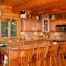 Traditional Kitchen by George Apap Painting and HPM Carpentry