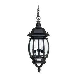 Capital Lighting - Capital Lighting 9864 3 Light Outdoor Hanging Fixture - Capital Lighting 98643 Light OutdoorFrench Country Pendant