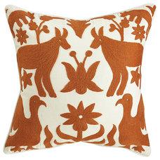 Contemporary Decorative Pillows by Wisteria