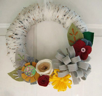 Eclectic Wreaths And Garlands by Etsy