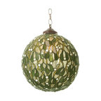 "Meyda Tiffany - Meyda Tiffany Meyda Originals Pendant Lighting Fixture - Shown in picture: Mistletoe Ball Pendant; Smallest height shown - expandable from 18""-51""."