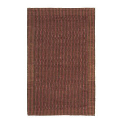 Safavieh - Natural Fiber Sisal Rectangular Rug (5 ft. x 3 ft.) - Size: 5 ft. x 3 ft. Traditional style. Power loomed. Soft and durable. Made from sisal. Brown and rust color. Made in India. This densely woven rug will add a warm accent and feel to any home. Care Instructions: Vacuum regularly. Brushless attachment is recommended. Avoid direct and continuous exposure to sunlight. Do not pull loose ends; clip them with scissors to remove. Remove spills immediately; blot with clean cloth by pressing firmly around the spill to absorb as much as possible. For hard-to-remove stains professional rug cleaning is recommended.