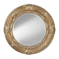 Murray Feiss - Murray Feiss MR1202CHP Mirror - Transitional Mirror in Champagne with Clear glass by Murray Feiss.