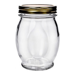Global Amici Orto Canning Glass Jar with Lid - 27.5 oz. - Seems like everyone wants a jar of your canned tomato sauce and luckily, you're able to properly can and show off your goods in the Global Amici Orto Canning Glass Jar with Lid - 27.5 oz. Generously sized and stylishly curvy, this clear glass jar is dishwasher-friendly and comes with a screw-on lid and rubber-coated ring. About Global Amici Inc.Global Amici was established in 1982 on the sole principle of providing outstanding houseware products to its customers at a reasonable price. Each product focuses on design, functionality, and beauty. No matter what the occasion, Global Amici offers products that showcase style that can help transform ordinary food and everyday dining into a special presentation, not to be forgotten.