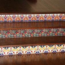 Mediterranean Floor Tiles by Steven Alvarez General Contractor