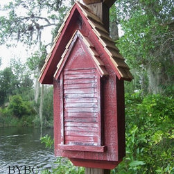Heartwood Victorian Bat House - While not for everyone, a bat house is a great way to keep the bugs away. I chose this one because of its mad Victorian styling, which seems appropriate for bats!