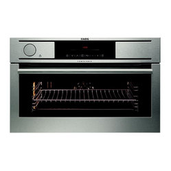 AEG Built-In Compact Electric multi-function Oven with Soft Power Steam System