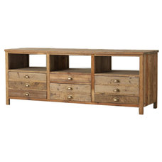 Eclectic Entertainment Centers And Tv Stands by Zin Home