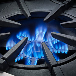 BlueStar Platinum Series: PrimaNovaTM burners with 25,000 BTU flame - All gas range.