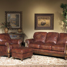 Traditional  by Wellington's Leather Furniture