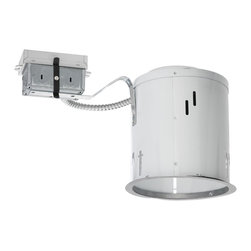 """Juno Lighting - PL642RE 6"""" Non IC Remodel Housing  - 42W Triple Vertical CFL - Housing only. Trim and bulb sold separately."""