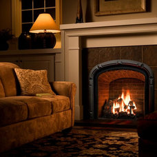 Traditional Fireplaces by Elegant Fireside and Patio llc