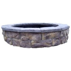 Contemporary Firepits by Home Depot