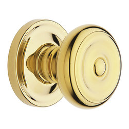 Baldwin Hardware - Baldwin Estate 5020 Colonial  Door Knob Set - Privacy - 5020 Product Details: