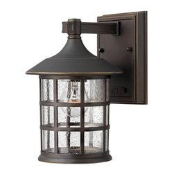 """Hinkley Lighting - Hinkley Lighting 1800-LED 9.25"""" Height LED Outdoor Lantern Wall Sconce - 9.25"""" Height LED Outdoor Lantern Wall Sconce from the Freeport CollectionFeatures:"""