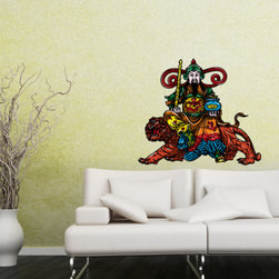 Chinese God Vinyl Wall Decal ChineseGodUScolor003; 72 in. - Vinyl Wall Decals are an awesome way to bring a room to life!