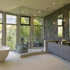 12 Designer Bathrooms for Less : Rooms : HGTV
