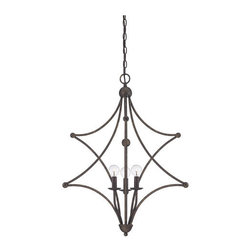 Savoy House - Savoy House 7-4352-3 Society Collection 3 Light Multi Light Pendant - Features: