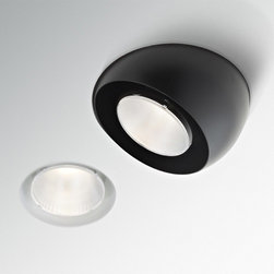Fabbian - Tools Trimless Downlight with Eyeball Recessed Light | Fabbian - Design by FE Design.