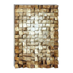 """BZBZ38558 - Unique Design Wood Wall Art with Exquisite Styling - Unique design wood wall art with exquisite styling. Give your home a more distinctive appeal with this beautiful wood wall art which features a simple, yet unique design. It comes with the following dimensions: 30"""" W x 3"""" D x 47"""" H."""