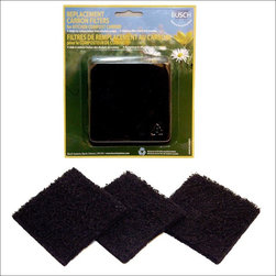 Exaco - Exaco Replacement Filters for Eco Kitchen Compost Pail - ECO 2500 - Shop for Garden Equipment from Hayneedle.com! Can't stand the stink? Exaco Replacement Filters for Eco Kitchen Compost Pail will get you back in the kitchen. These small wonders of woven carbon are meant to be used with the Exaco Eco Kitchen Compost Pail. Each filter provides 3 months of odor reduction. With these at your service you'll no longer wake up and smell the compost.About Exaco USAExaco USA Ltd. is a family-owned company based in Austin Texas that introduced the Exomixer paint mixing blade to the U.S. market in the late 1980s. The company has been a vendor to major home center chains and national distributors for 17 years providing a variety of innovative products for your yard and outdoor living.