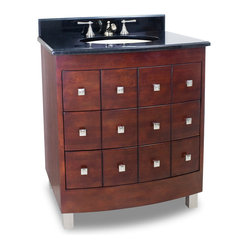 Lyn Design VAN038-T Wood Vanity