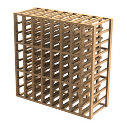 EcoWineracks 8 Column Upper Individual Bottle Rack, Natural Color, Clear Acrylic - EcoWineracks are the worlds only traditional style wine racks made from non-forested and sustainable bamboo. Bamboo is superior to wood in strength and durability, is non-warping and has consistent grain.